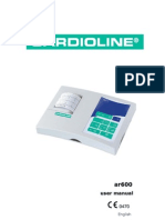 Cardioline Ar600 - User Manual