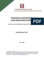154_1_Organizacion y Funcionamiento de Las Cajas de Salud en Bolivia