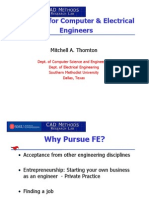FE Exam for Computer & Electrical Engineers