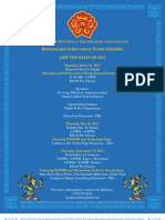Latinas in Business & Professions 2013 Schedule of Events