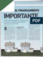 No solo el financiamiento es lo más importante (Publicado en 2011)
