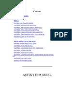 A Study in Scarlet- Sherlock Holmes