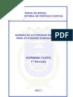 Norma M15 - Marinha