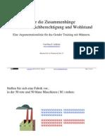 Gender Training für Männer / GenderTraining mit Männern