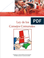 Ley de los Consejos Comunales