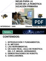 Tecnicas Robotica Primaria