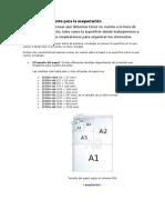 Definir un documento para la maquetación