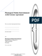 License Agreement English