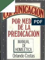 Costas, Orlando - Comunicacion Por Medio de La Predicacion