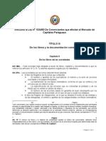 Articulos Ley No-1034 83