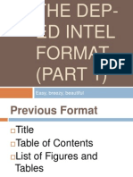 Intel Science Research Format Deped