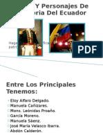 Principales Lideres Y Personajes Del Ecuador