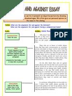 7.2 Discussion Essay Esl Printables