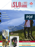 Kaslo and Area 2013 Guide