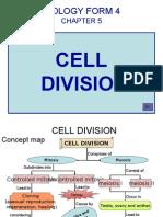 Bio f4 Chap 5 Cell Division