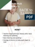 KSSR First Principle-Back to Basic