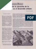 Prioritaria la ejecución de la planeación urbana (Publicado en 1995)