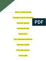 Creacion de clases e interfases gráficas en netbeans Wilson Sanchez