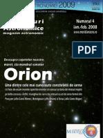 Orizonturi Astronomice - numarul 4