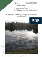 Informationsfelder - Denkmodell zu Phaenomenen der Radiesthesie