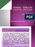 Fondos Publicos Conceptos Vinculados Harorl Chavez