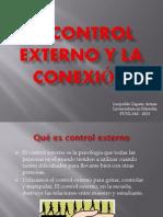 El control externo y la conexión