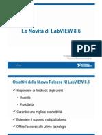Le Novità Di LabVIEW 8.6