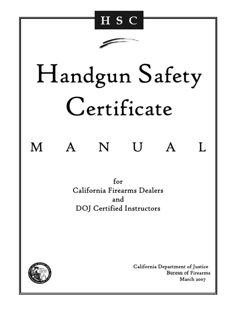 Hscman Handgun Magazine Firearms