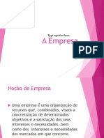 A Empresa.pptx