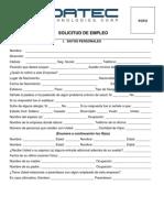 RH Solicitud de Empleo-PRODATEC Fill