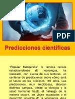 PREDICCIONES CIENTIFICAS