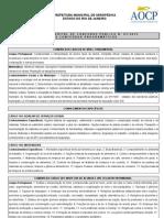 Anexo II Conteudo Programatico Seropedica