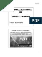 Como Llenar El Pdt 601 Planilla Electronica
