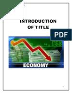 Economic Sectors of Pakistan(1)