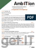 AmbItion Roadshow NE Agenda - Thursday 5th March