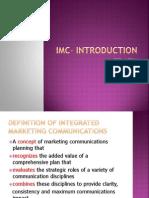 IMC INTRODUCTION