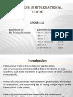 Patterns in International Trade