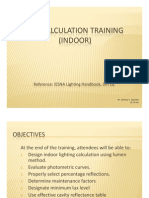 Lux Calculation Training - Indoor