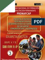 Pronafcap 2009- Material Educativo Para El Desarrollo de Capacidades