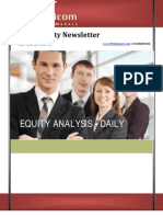 Daily equity newsletter 8March2013