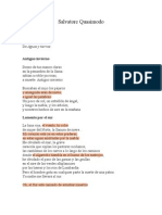 Antología - Salvatore Quasimodo