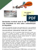 Queimadas receberá mais de R$ 1.3 milhões com derrubada de veto sobre redistribuição de Royalties