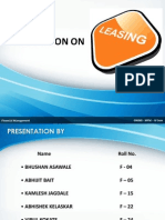 Presentation on Leasing