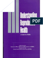 Understanding Reproductive Health - A Guide for Media