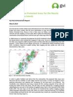 Tabu Mapping Achievement Report - GVI Fiji March 2013