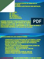 CONDUCTORES Y DISEÑO DE INST. ELECT.