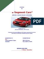 Automobile SYNOPSIS
