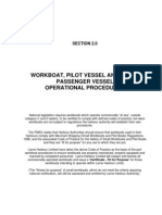 Workboat Operation Procedures