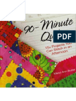 90 Minute Quilts - 15 Projects