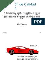 Definición de Calidad Software
